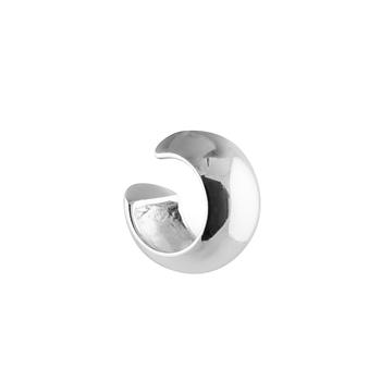 Wide Ear cuff Silver