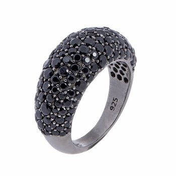 Pebble Ring Black