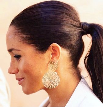 Gourmette earrings