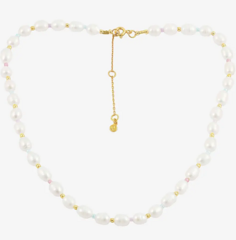 Pastel Peal necklace