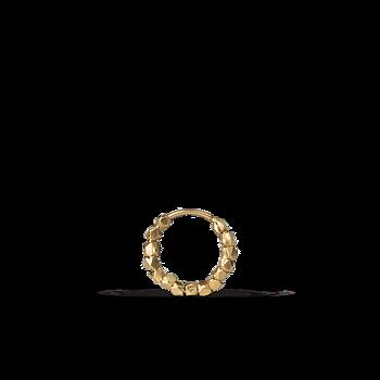 Bead Twist Earring-small-guld