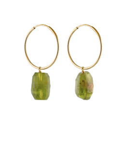 Rare Peridot earrings