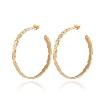 creole gold earring