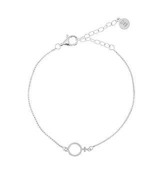 Letters Venus Chain Brace Silver