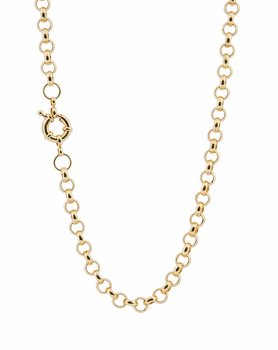 Link chain gold 70cm