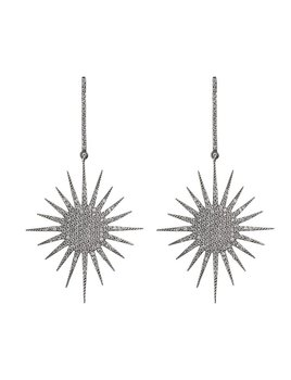 Supernova Earring Black