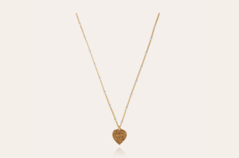 Coeur necklace mini gold