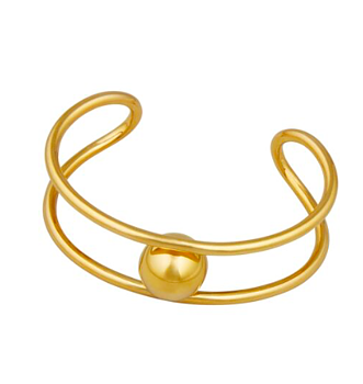 Bullet Bangle Brass