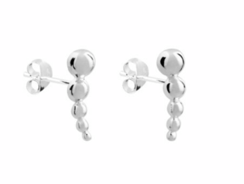 Tiny Balls earrings sterling silver