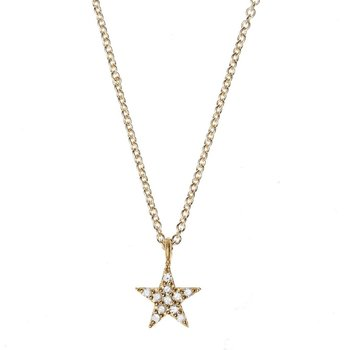 Star Necklace small gold