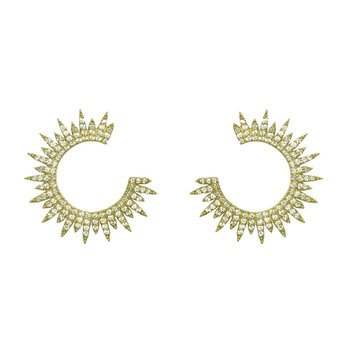 Moon Star Earring Gold