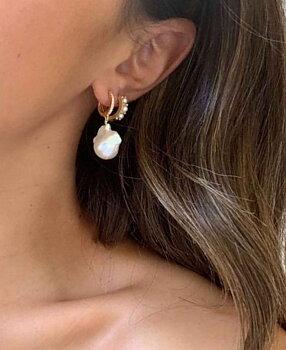 Marin Earrings gold
