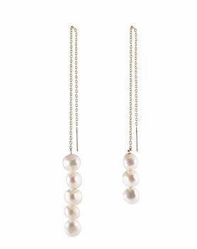 3+5 Pearl Earring