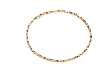 Happy colorful bracelet