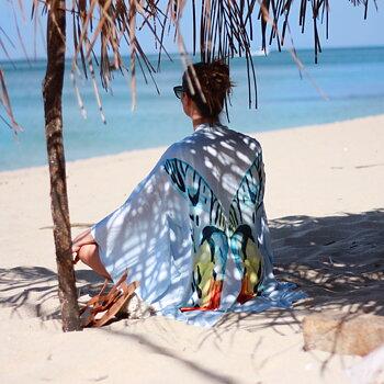 "Kimono ""Transcendence ""| Non-violent Eri Silk"