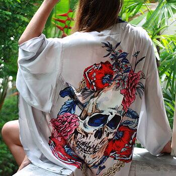 "Kimono ""YOLO"" | Non-violent Eri Silk"
