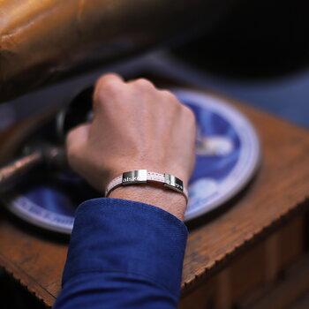 """Naturfärgat läderarmband med gravyr """"älskad pappa"""", 8mm, 16-25cm"""