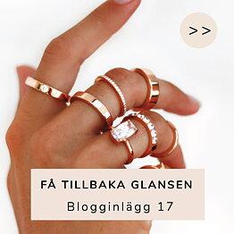 Inlägg 17 - Få tillbaka glansen på dina smycken