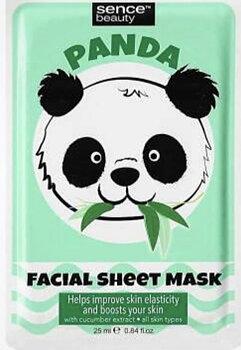 Ansiktsmask-Panda