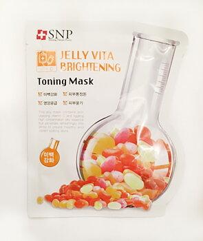 SNP Jelly Vita Brightening Toning Mask