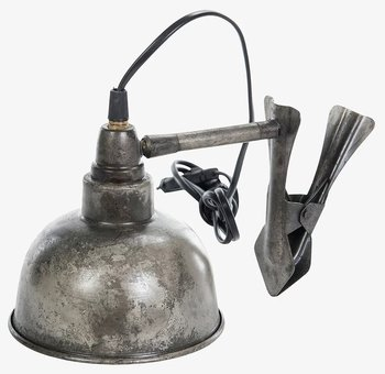 Lampa med clips - Industristil