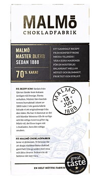 Chokladkaka Tegel Master Blend - Malmö Chokladfabrik