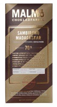 Chokladkaka Tegel Sambirano Madagaskar  - Malmö Chokladfabrik