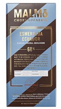 Chokladkaka Tegel Esmeralda Equador  - Malmö Chokladfabrik