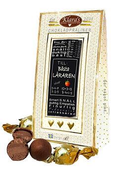 Chokladpraliner Deluxe - Till Läraren