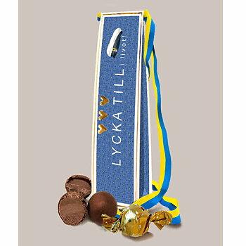 Chokladkort - Student med band