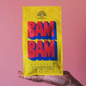 Lykke kaffegårdar, Bam Bam! - 500g Hela bönor