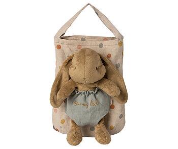 Bunny Bob i väska - Maileg