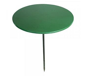 Sommarbord rund, mörkgrön