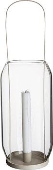 Ljuslykta för kronljus, 40 cm beige - ERNST