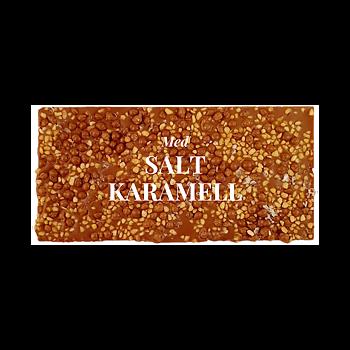 Chokladkaka, Salt Karamell, 40% kakao - Pralinhuset