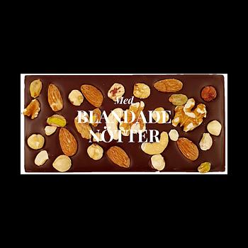 Chokladkaka, Blandade Nötter, 70% kakao - Pralinhuset