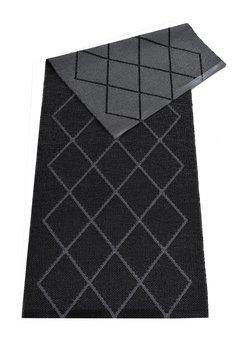 Ruter svart - plastmatta