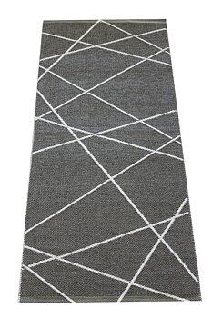 Line Grå - plastmatta