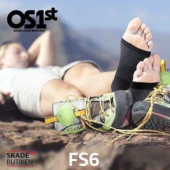 FS6 Kompressionsstrumpa Hälsporre
