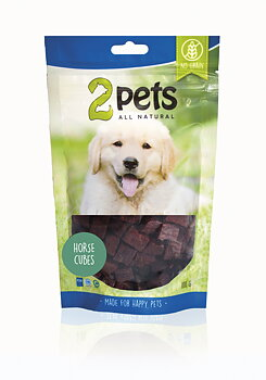 2Pets Dogsnack Horse Cubes 100g