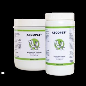 Ascopet, flera storlekar