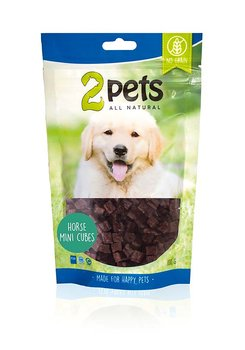 2Pets Dogsnack Horse Mini Cubes 100g