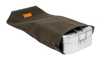 Roll Top bag, Mess tin Large, olive
