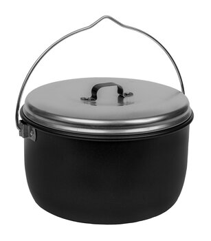 Billy 4.5 L black with high lid