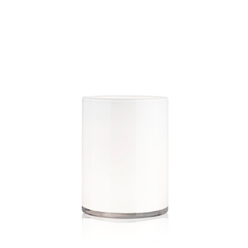 HURRICANE LAMP MEDIUM, White