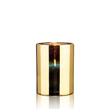 HURRICANE LAMP MEDIUM, Gold