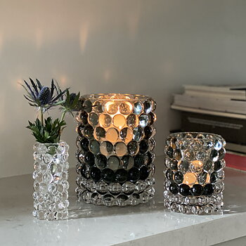 HURRICANE LAMP BOULE, Sage