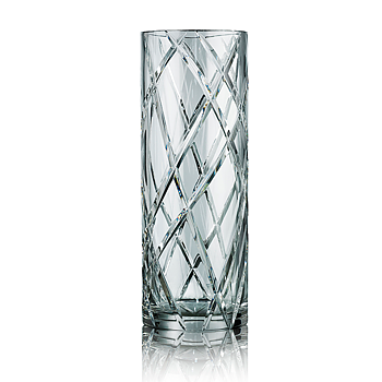 HURRICANE CRYSTAL LILY, Clear Vase