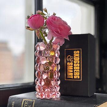 HURRICANE BOULE MINI, Rosé Mini Vase
