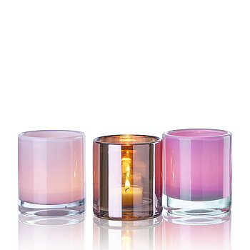 HURRICANE LAMP CANDY HOLLYWOOD, Windlichter